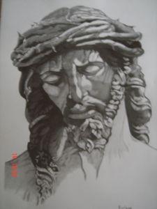 dibujos a lapiz de cristo (5)