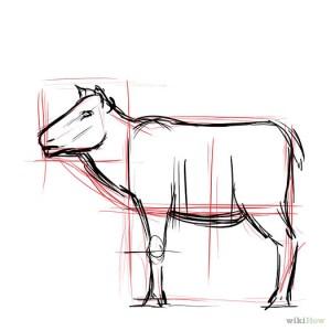 dibujos a lapiz de renos (1)