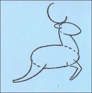 dibujos a lapiz de renos (6)