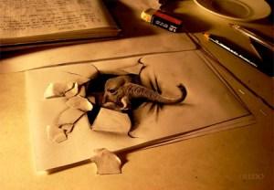 dibujos a lapiz en tercera dimension (6)