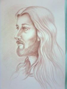 dibujos a lapiz jesus (1)