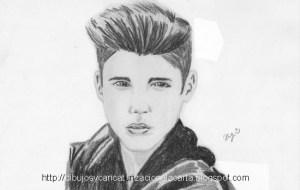 Dibujos a lápiz de Justin Bieber (1)