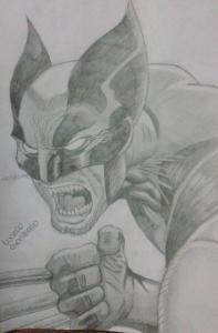 dibujos a lapiz de wolverine (3)