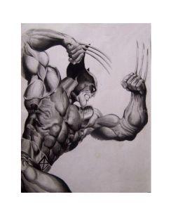 dibujos a lapiz de wolverine (7)