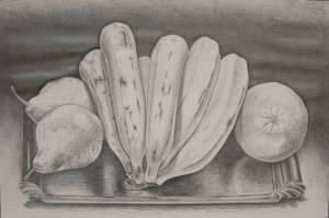 Dibujos a lápiz de bodegones (10)