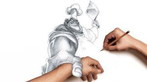 Dibujos a lápiz en 3d (13)
