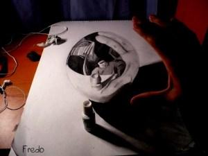 Dibujos a lápiz en 3d (2)