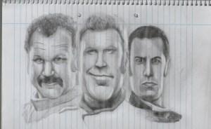 Dibujos a lápiz de caricaturas (4)