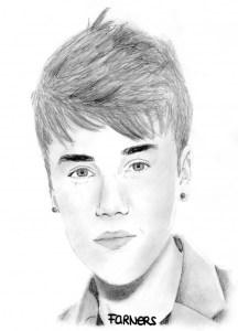Dibujos a lápiz de Justin Bieber (8)