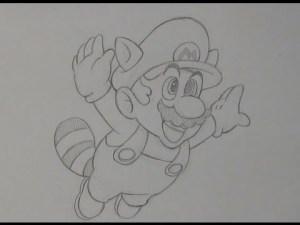 Dibujos a lápiz de Mario Bros (4)