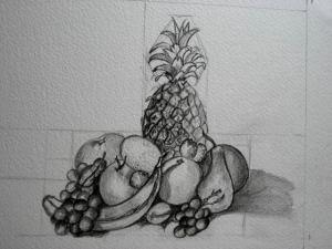 15 dibujos a lápiz de formas básicas (7)