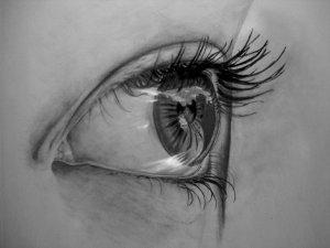 15 imágenes con opciones de dibujos a lápiz de ojos (2)
