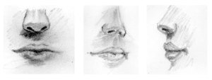 15 imágenes de dibujos a lápiz de boca de mujer (10)