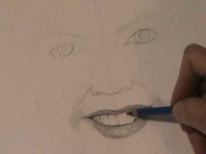 15 imágenes de dibujos a lápiz de boca de mujer (6)