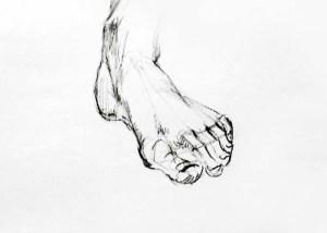 15 imágenes de dibujos a lápiz de manos y pies (9)