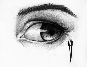 15 opciones de dibujos a lápiz de ojos (2)