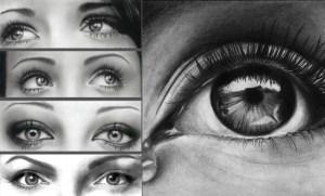 15 opciones de dibujos a lápiz de ojos (7)