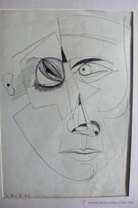 Dibujos abstractos a lápiz (9)