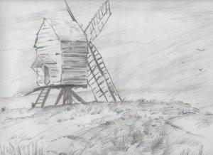 Dibujos de paisajes (5)