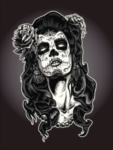 Day of the Dead Calavera Woman
