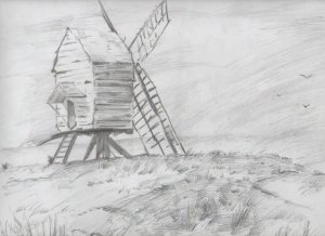 12 Ideas para comenzar a dibujar paisajes (6)