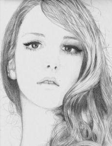 Galería de imágenes con 13 dibujos de rostros a lápiz (9)