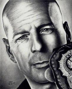 11 Interesantes dibujos a lápiz de famosos (1)