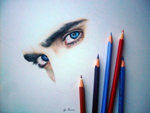 9 Bonitos dibujos a lapiz de color (6)