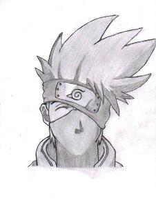 10 Dibujos a lapiz de Naruto (2)