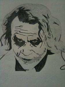 10 Dibujos a lápiz del joker (2)