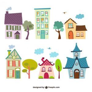 10 Dibujos de casas (5)
