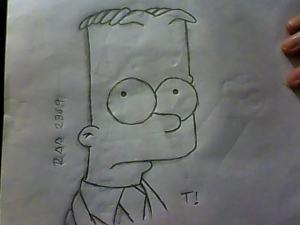 10 dibujos a lápiz de los simpson (10)
