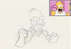 10 dibujos a lápiz de los simpson (2)