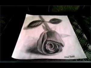 10 interesantes dibujos a lápiz en tercera dimensión (8)