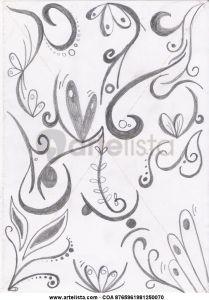 10 nuevos dibujos a lápiz abstractos (3)