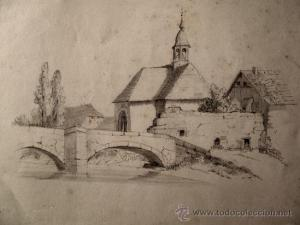 10 Dibujos a lápiz de paisajes (2)
