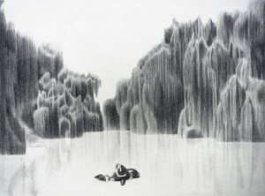 10 Dibujos a lápiz de paisajes (8)