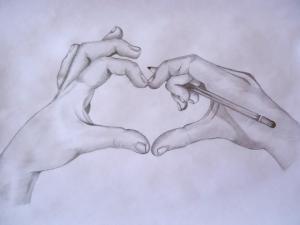 10 dibujos a lápiz de amor (9)