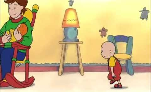 Caillou 1×12 – Caillou el hermano mayor