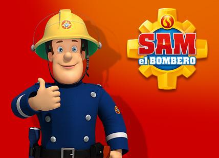 Fireman Sam 3d Wallpaper Sam El Bombero Dibujos Para Colorear