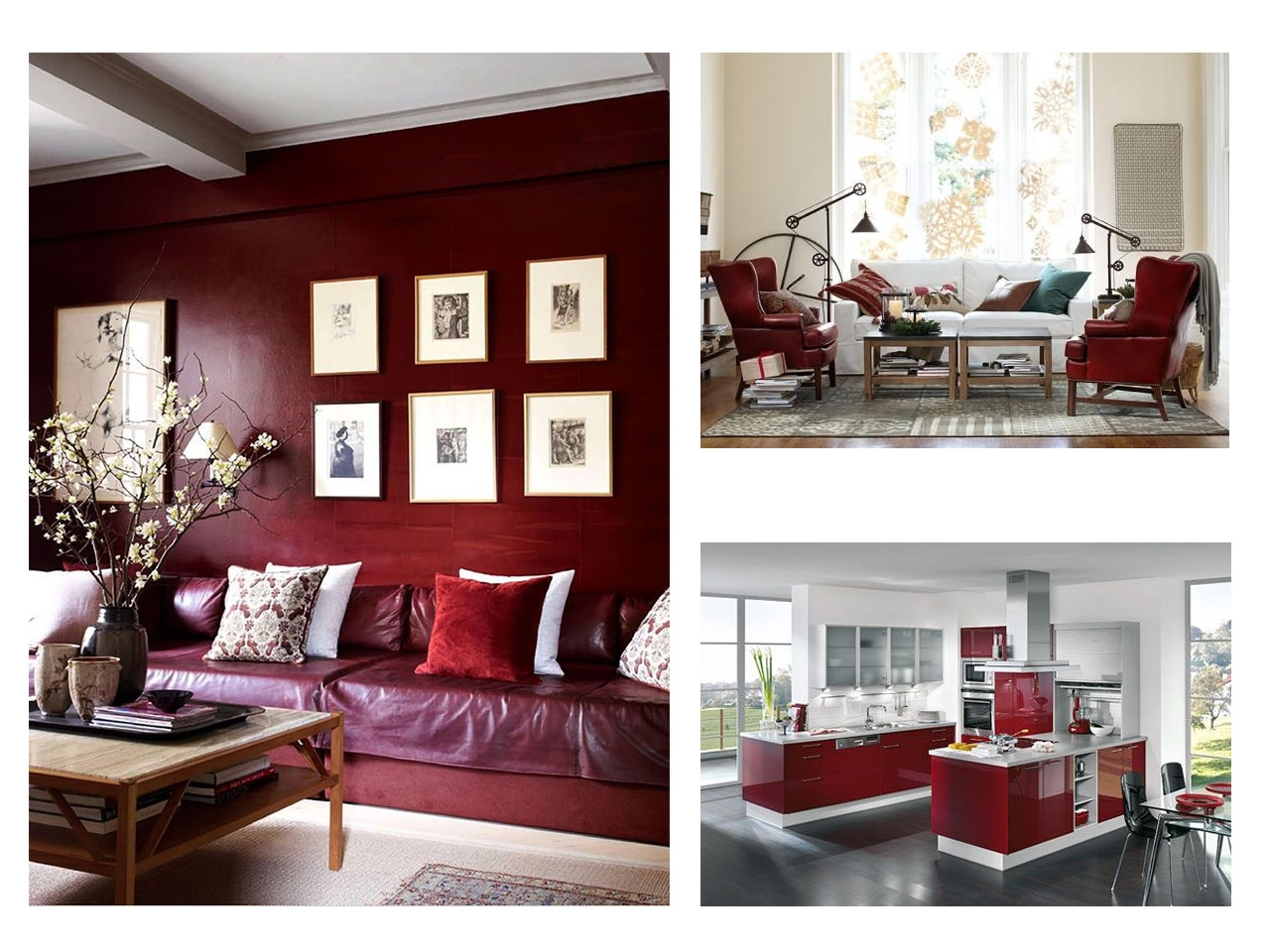 Pintura Granate Tendencias Decoración 2015 Los Rojos Intensos
