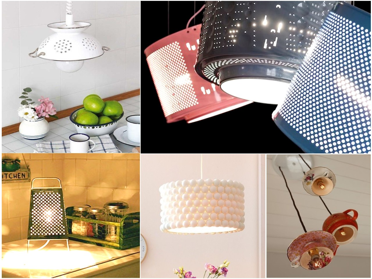 Como Hacer Lamparas Decorativas 10 Ideas Originales De Reciclar Para Decorar Con Lámparas