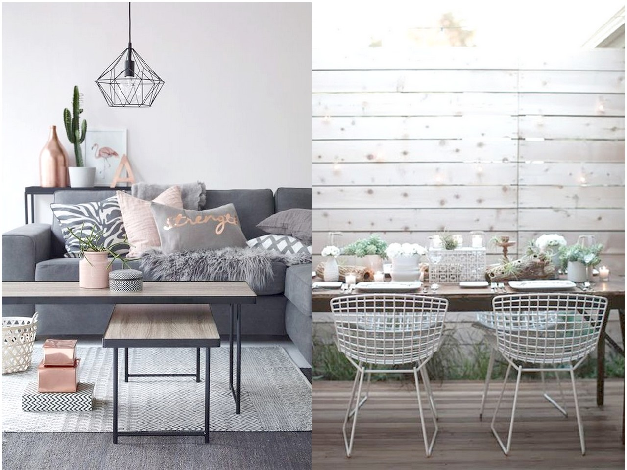 Tendencias De Decoracion De Interiores 2016 Tendencias 2016 2017 Decorar Con Metal