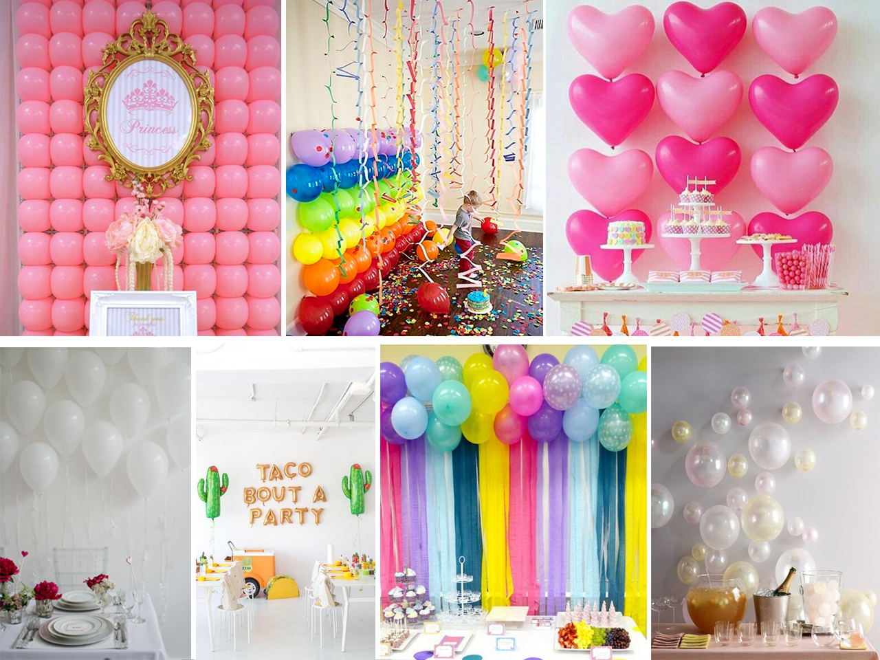 Como Decorar Una Pared Con Fotos Descubre Cómo Decorar Con Globos Con Estas Fantásticas Ideas
