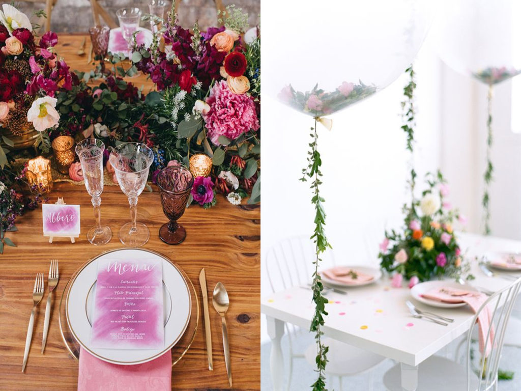Ideas Para Decorar Salones De Fiestas Tendencias Decoración Bodas 2018 2019 Ideas Para Decorar Dicoro