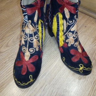 Turkish embroidered boots