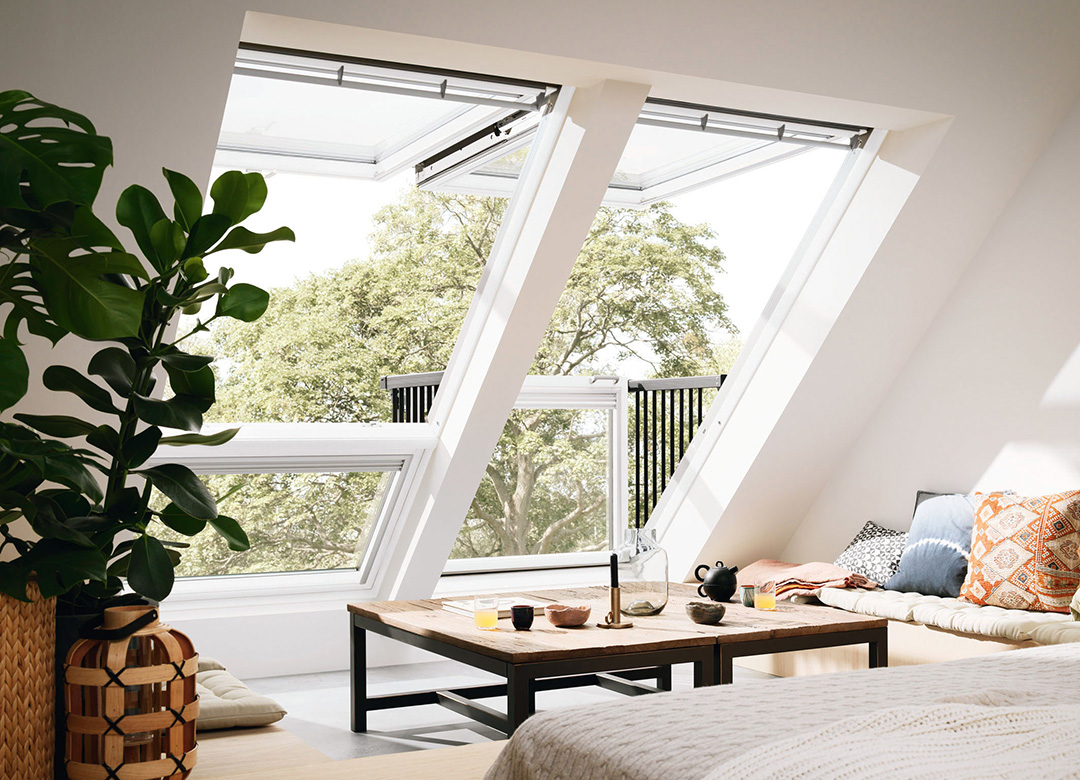 Dachfenster Balkon Dachfenster Quotcabrio Quot Von Velux Produkttrends