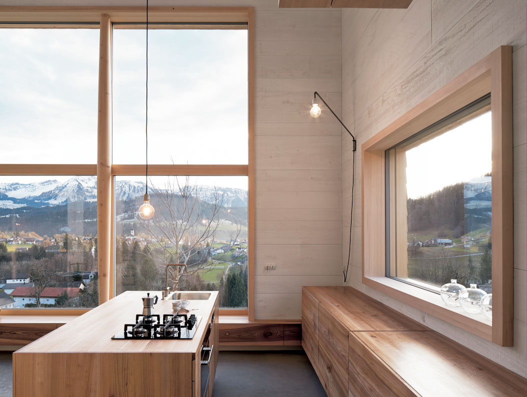 Offene Küche Ohne Fenster Bosch Kücheninspirationen Planung Ideen