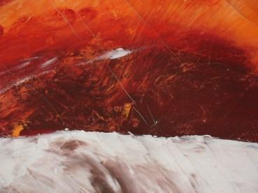 "die artige / ""Lan"", 90cm x 110cm, Acryl auf Leinwand"