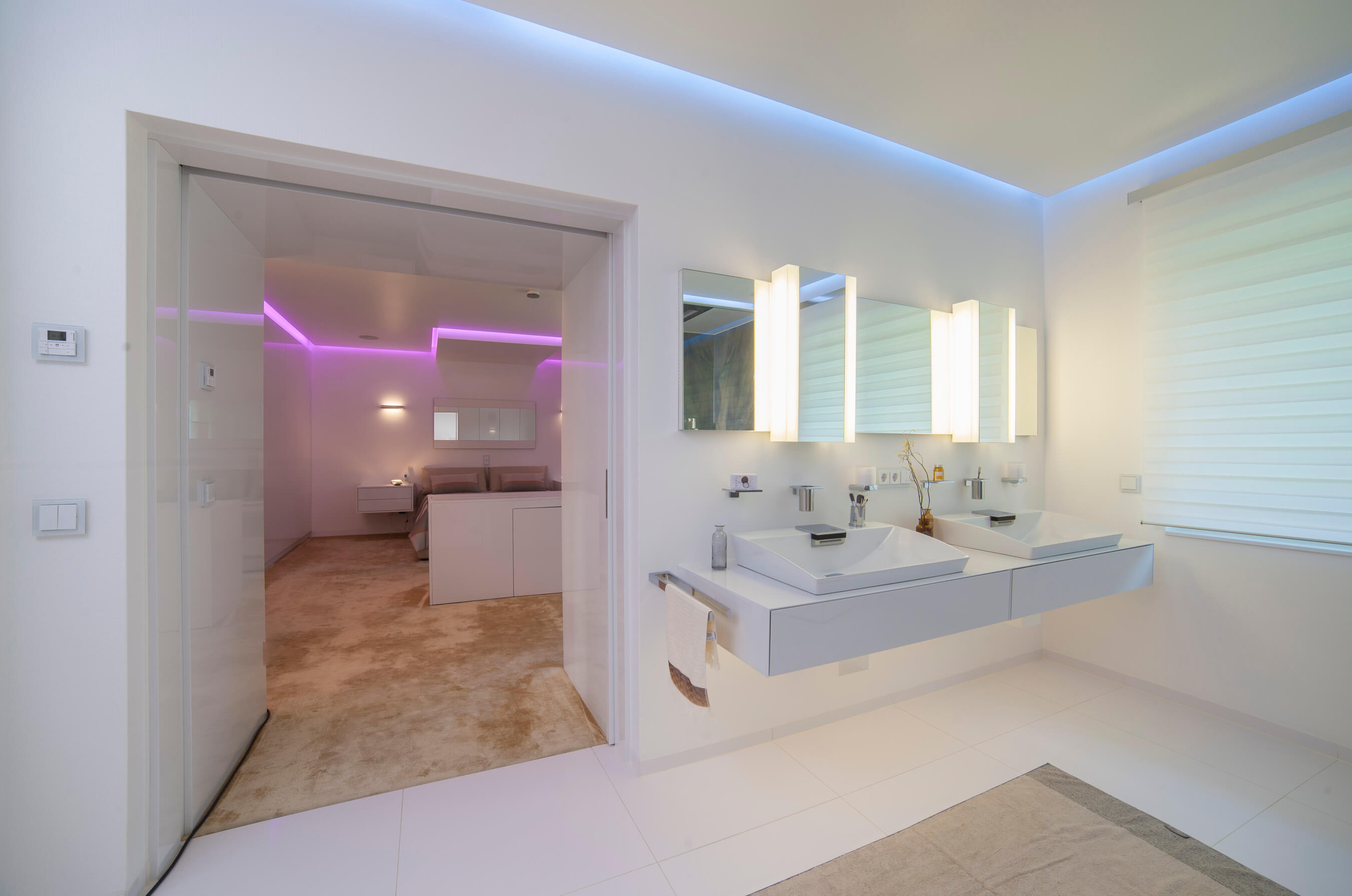Exklusive Badezimmer Armaturen Luxus Bad Trendstudie Badarchitektur Purismus Mit Innovativer